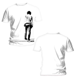 Doors (THE) - Back Print Solitary White (T-SHIRT Unisex )