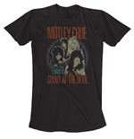 Motley Crue - Vintage World Tour 1983 Black (T-SHIRT Unisex )