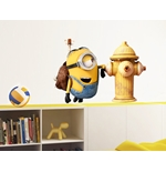 Wall Sticker I Minions Fire Hydrant