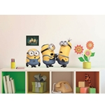 Wall Sticker I Minions Relax&Fight