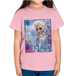 Frozen - Elsa Light Pink (T-SHIRT Bambino )