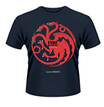 Game Of Thrones - Fire And Blood (T-SHIRT Unisex )