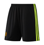 Pantaloncini Short Belgio Calcio 2016-2017 Home (Nero)