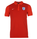 Polo Inglaterra 2016-2017 Nike Authentic Grand Slam  (Rossa)