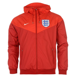 Giacca Inghilterra 2016-2017 Nike Authentic Windrunner (Rossa)