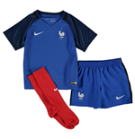 Kit Francia 2016-2017 Home Nike da bebè