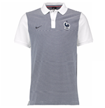 Polo Francia 2016-2017 Nike Authentic da bambino (grigia)