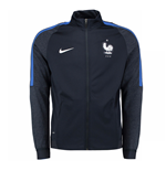Giacca Francia 2016-2017 Nike Authentic Revolution Knit (Blu)