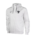 Giacca Francia 2016-2017 Nike Authentic Windrunner (Bianca)