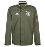 Giacca Germania 2016-2017 Adidas Travel (Verde)