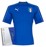 Maglia Italia 2016-2017 Authentic Home Puma