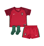Kit Portogallo 2016-2017 Home Nike da bebé
