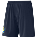 Pantaloncini Short Svezia calcio 2016-2017 Away