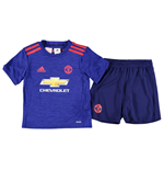 Kit Manchester United 2016-2017 Adidas Away da bambino