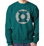 Green Lantern - Distressed Logo (felpa Unisex )