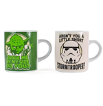 Star Wars - Yoda + Stormtrooper (Set 2 Tazze Mini)