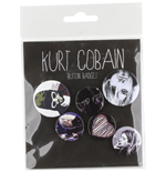Kurt Cobain - Faces (Badge Pack)