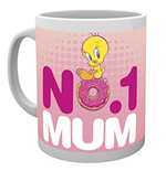 Looney Tunes - Number One Mum Mothers Day Mug (Tazza)