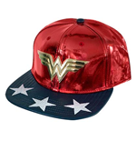 Cappellino Wonder Woman Shiny Logo