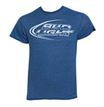 T-shirt Bud Light Blue