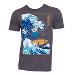 T-shirt Adventure Time Surfing The Great Wave Japanese