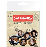 One Direction - Four (Badge Pack)
