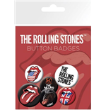 Rolling Stones (The) - Lips (Badge Pack)