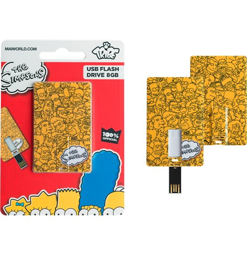 Simpson (I) - Logo - Card USB 8GB