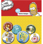 Simpsons (The) - Homer (Badge Pack)
