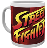 Street Fighter - Logo (Tazza)