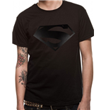 Superman - Black Logo (T-SHIRT Unisex )