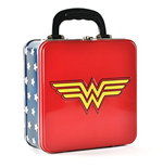 Valigetta Metallica Wonder Woman - Logo Embossed