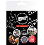 5 Seconds Of Summer - Mix 1 (Badge Pack)