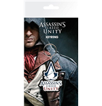 Assassin's Creed Unity - Logo (portachiavi Gomma)