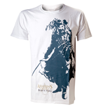 ASSASSIN'S Creed Iv - White Black Beard (T-SHIRT Unisex )