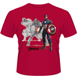 Avengers - Age Of Ultron - Captain A Draw (T-SHIRT Unisex )
