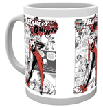 Batman Comics - Harley Quinn Comic (Tazza)