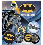 Batman Comic - Logo And Joker (Badge Pack)
