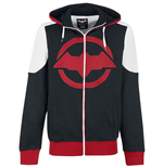 Batman - Arkham Knight - BLACK/RED/WHITE (felpa Unisex )