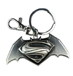 Batman V Superman - Logo Black Pewter (Portachiavi)