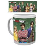 Tazza The Big Bang Theory - Cast