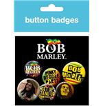 Bob Marley - One Love (Badge Pack)