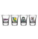 Dc Comics - Batman - Joker (Set 4 Bicchieri Piccoli)