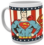 Dc Comics - Superman Vintage (Tazza)