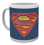 Dc Comics - Superman Mesh Logo (Tazza)