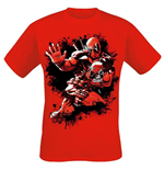 Deadpool - Jump Red (T-SHIRT Unisex )