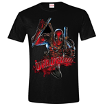 Deadpool - Attack White (T-SHIRT Unisex )