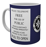 Doctor Who - Tardis Sign (Tazza)