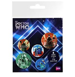 Doctor Who - Retro (Badge Pack)