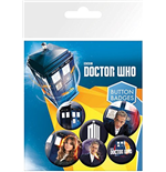 Doctor Who - New (Badge Pack)